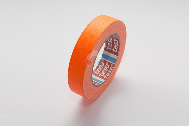 Cinta Fluorescente - Naranja 25mm x 25m