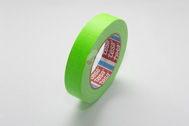 Cinta Fluorescente - Verde 25mm x 25m