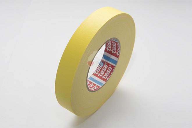Cinta de Cámara - Amarilla 25mm x 50m