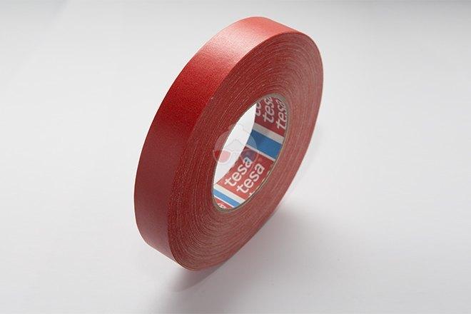 Cinta de Cámara - Roja 25mm x 50m