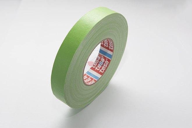 Cinta de Cámara - Verde 25mm x 50m