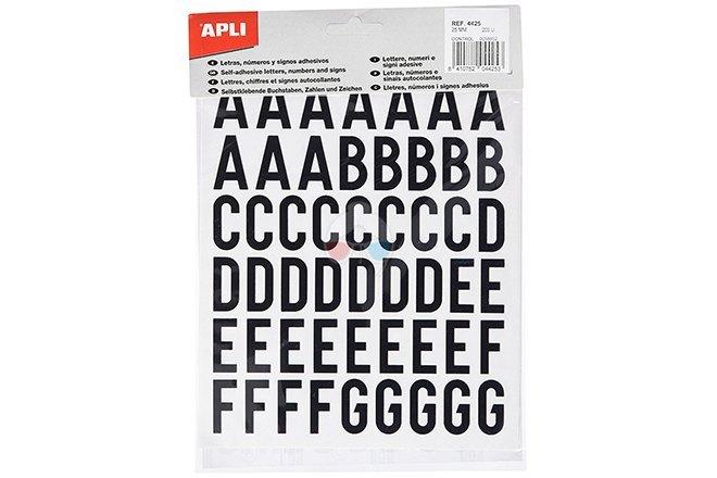 Pegatinas Letras APLI