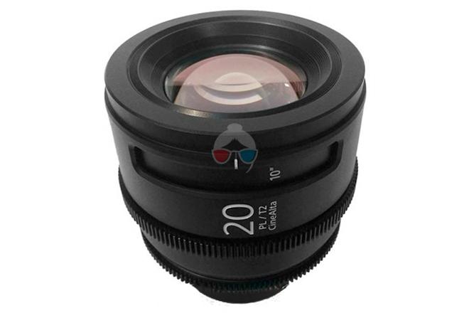 Sony 20 mm Cinealta T2.0