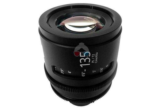 Sony 135 mm Cinealta T2.0