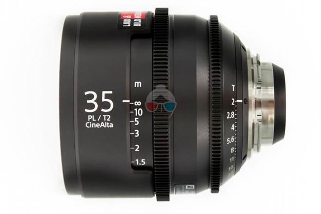 Sony 35 mm Cinealta T2.0