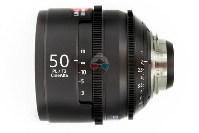 Sony 50 mm Cinealta T2.0