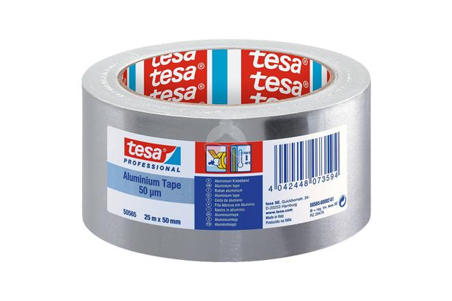 Cinta Anticalórica Aluminio - Tesa 50mm x 25m